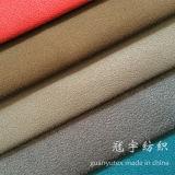 Tutto colora il tessuto della pelle scamosciata dei capelli di scarsità per i coperchi del sofà