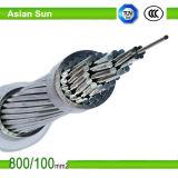 AAAC Conductor de aleación de aluminio para líneas eléctricas aéreas de transmisión