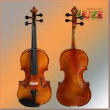 Handmade flameados violín (la mitad de la pintura a mano)