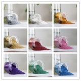 Série de couleur pour le revêtement de poudre de paillettes de PET
