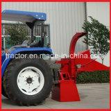 Sm6/Sm 8トラクターによって取付けられる木製の快活なシュレッダー、庭の木製の快活な機械