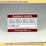 Cartão do código de barras/cartão da lealdade/fabricante cartão da impressão