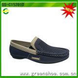 De Schoenen van het Kind van het leer die uit China worden ingevoerd