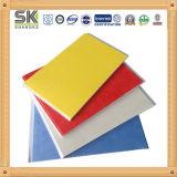 Diseño colorido Panel PVC material de construcción para techos