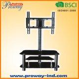 Moderner Fernsehapparat-Standplatz Fernsehapparat-Tisch mit Universalmontage-System 32 bis 50 Zoll