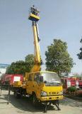 Isuzu 15m 머리 위 Working15 미터 공중 플래트홈 트럭