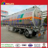 45000 litres trois d'essieux de remorque de réservoir de carburant