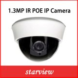 Plastik-1.3MP IRcctv-Sicherheit IP-Innenabdeckung-Kamera (DH1)