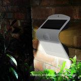 Indicatore luminoso solare della parete di obbligazione del sensore di movimento della prova dell'acqua (RS2015)