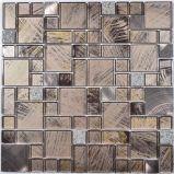 Disegno semplice di cristallo del mosaico Mixed