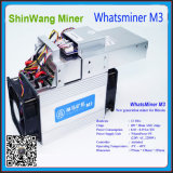 Bitcoin Mining를 위한 Whatsminer M3 Asic Chips Miner Hashrate 12th/S