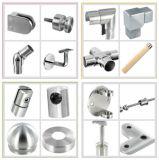 Supporto del corrimano dell'acciaio inossidabile/parentesi di vetro di asta della ringhiera di fissatore lato/dell'installazione