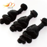 Человеческие волосы дешевой монгольской волны волос девственницы свободной естественные Unprocessed