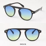 Óculos de sol do plástico da forma de Hotsale