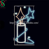 Navidad, luces LED de la calle de la estrella de la luz de Motif