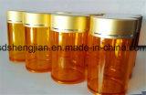бутылка любимчика плакировкой золота 100ml 120ml 150ml пластичная, бутылка пилюльки, бутылка продуктов здравоохранения