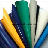 Materiale della tenda del poliestere, tessuto della tela incatramata del PVC, tela incatramata stampabile