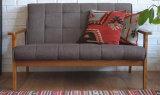 Sofà di legno solido del salone (M-X2174)
