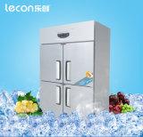 Замораживатель холодильника Workatable кухни нержавеющей стали коммерчески
