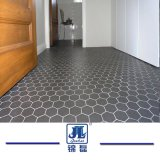 Parafuso sextavado com mosaicos de mármore e mosaicos hexagonal para paredes/pisos/banheiro