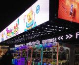 P10 en la pantalla LED de color al aire libre