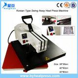 Korea-Typ Schwingen-Weg Wärme-Presse-Maschine