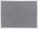 Высокое качество красный плоский полиэстер сетка нетканого материала ткань