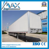 Tri-Axle Open Van Transport Semi Trailer für Sale Export Afrika
