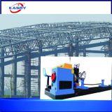 Einfacher Mittellinie CNC-Plasma-Ausschnitt-abschrägenmaschine des Geschäfts-Marinetechnik-Geräten-nahtloses Rohr-Gefäß-5