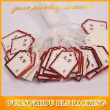 Custom эластичные String украшения теги бумаги