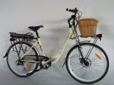 ヨーロッパの電気バイクバスケットのSamsung電池Jb-Tdf11zが付いている26インチ都市タイプ女性