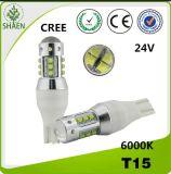 T10 Car LED Light 80W CREE Chip 6000k
