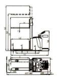 Impilatore elettrico pieno del peso di Blance