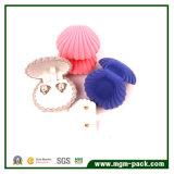 Commerce de gros coffret à bijoux en plastique en forme de Shell
