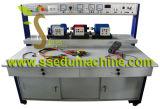 Equipo educativo eléctrico del equipo de entrenamiento de la máquina del amaestrador del motor del anillo colectando