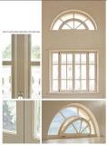 Окно алюминиевой формы рамки специальной фикчированное, окно специальности хорошего качества алюминиевое для дома верхнего сегмента