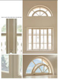 Marco de aluminio forma especial ventana fija, especialidad buena calidad Ventana de aluminio de gama alta Casa