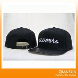 Sombreros 2016 del Snapback de la impresión de algodón con su insignia