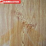 Bobina de aço de madeira PPGI de madeira de Grein para a decoração
