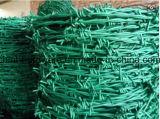 Колючая проволока PVC двойной закрутки Coated от фабрики