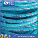 El manguito tejido PVC /PVC de la irrigación del PVC del manguito reforzó el manguito de jardín