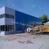 Entrepôt préfabriqué moderne de structure métallique au Luxembourg