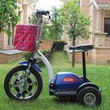 Heißer Verkaufs-weißes schwarzes rotes elektrisches Dreirad mit Qualität
