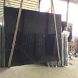 Nero Marquina Yunfu оптовая торговля черным мрамором с небольшой слой