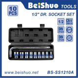 "10PC China Cheap Price10PCS 1/2 ""Socket Set avec outil de réparation"
