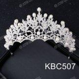 大人の王冠およびティアラのRhinestone Pearl Crown、花嫁のティアラの結婚式の王冠プロムのための王女