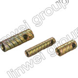 Socket de elevación de acero de la cuerda de rosca Herringbone en los accesorios del concreto de prefabricación (M16X100)