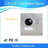 Stazione esterna di accesso di Dahua di controllo della villa a due fili del IP (VTO2000A-2)