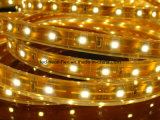 EMC CE LVD RoHS mandamiento de dos años de tira flexible de LED blanco cálido SMD de Luz (3528)