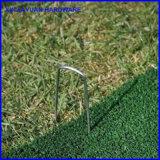 Q235金属の芝地のステープルピン景色Uの芝生の棒ピン